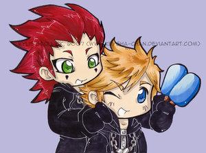 axel and roxas