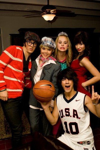 camp rock and jonas brothers