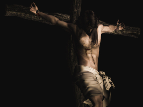 crucified - jesus Wallpaper