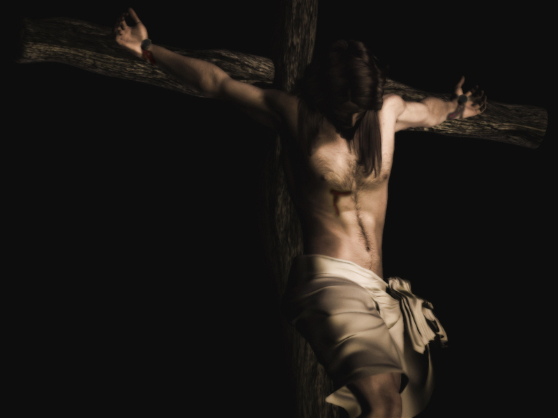 wallpaper of jesus. crucified - Jesus Wallpaper