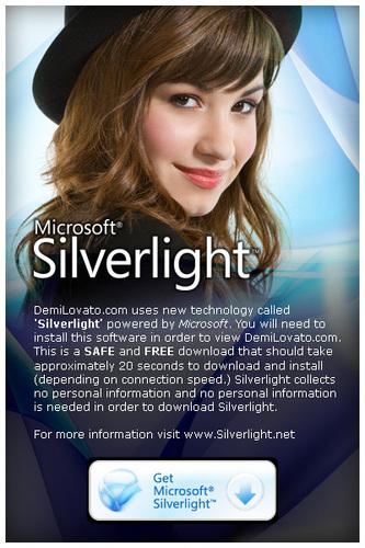 demilovato silverlight