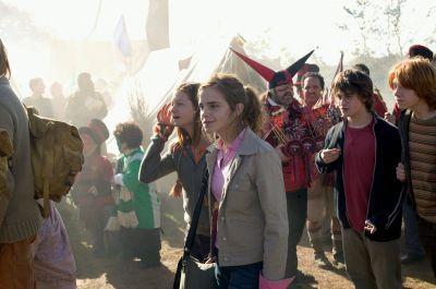 harry ron hermione ginny