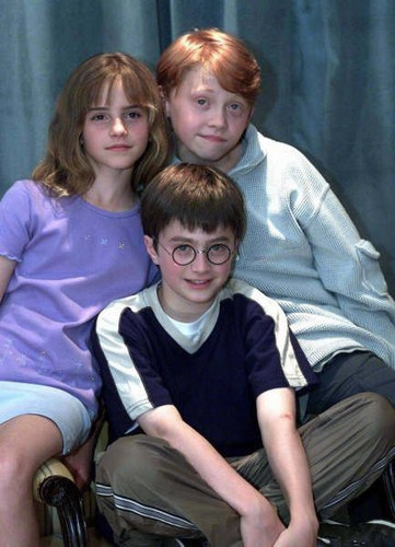 Harry Potter hình nền titled harry ron hermione