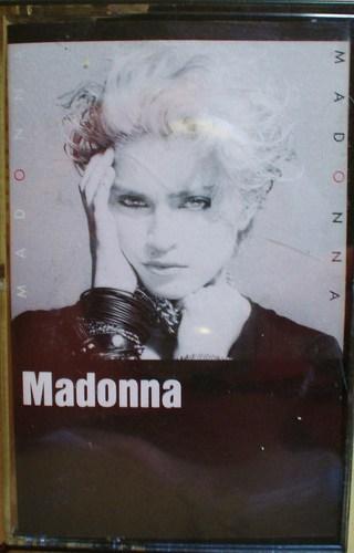 madonna cassette tape