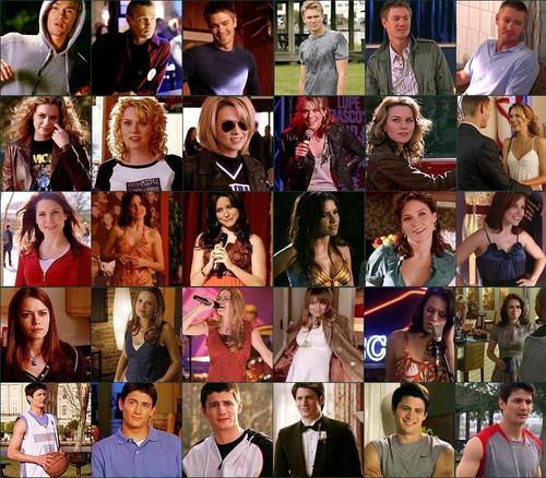 main cast through the years