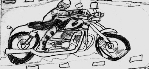 motorcycle Wolverine