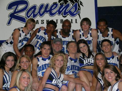 ravens and cheerleaders