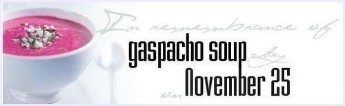 gaspacho スープ
