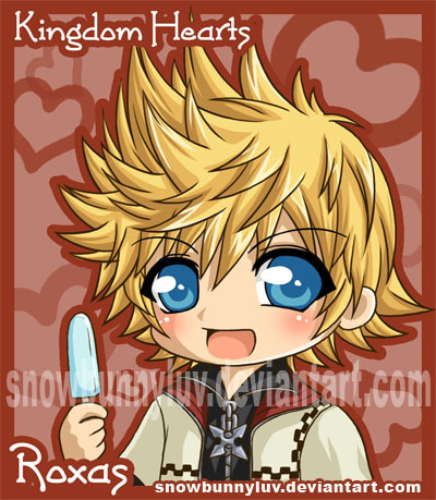 kingdom hearts wallpaper containing anime called roxas and es krim