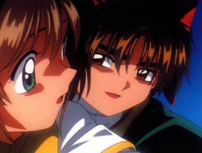 cardcaptor sakura and syaoran. sakura and syaoran