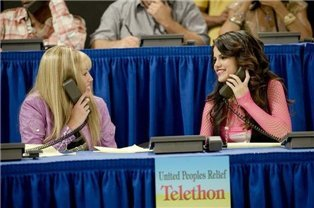 she and her rival. - hannah-montana