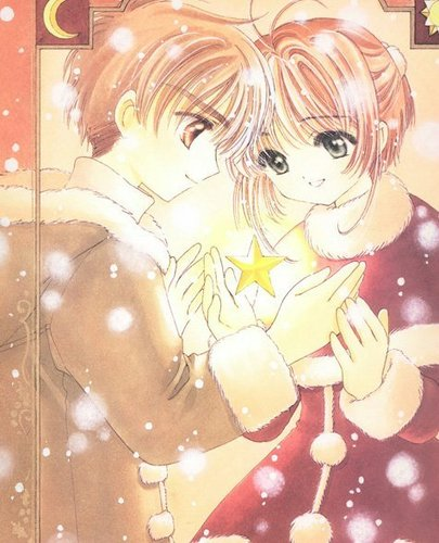 stars ; sakura and syaoran