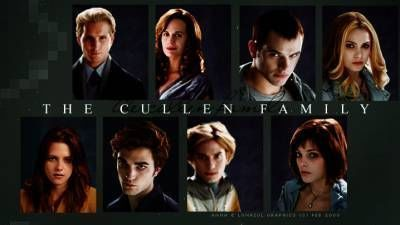 The Cullens वॉलपेपर with a portrait titled the cullens