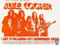 1971 concert handbill - alice-cooper fan art