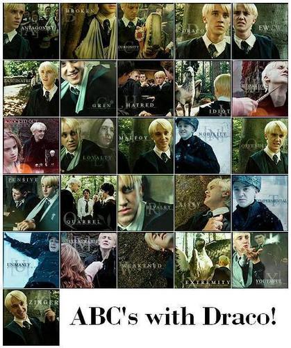 ABC's of Draco Malfoy