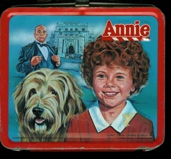 Lunch Boxes wallpaper titled Annie Vintage 1981 Lunch Box