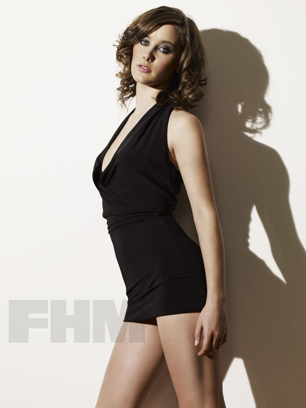 April Pearson in FHM