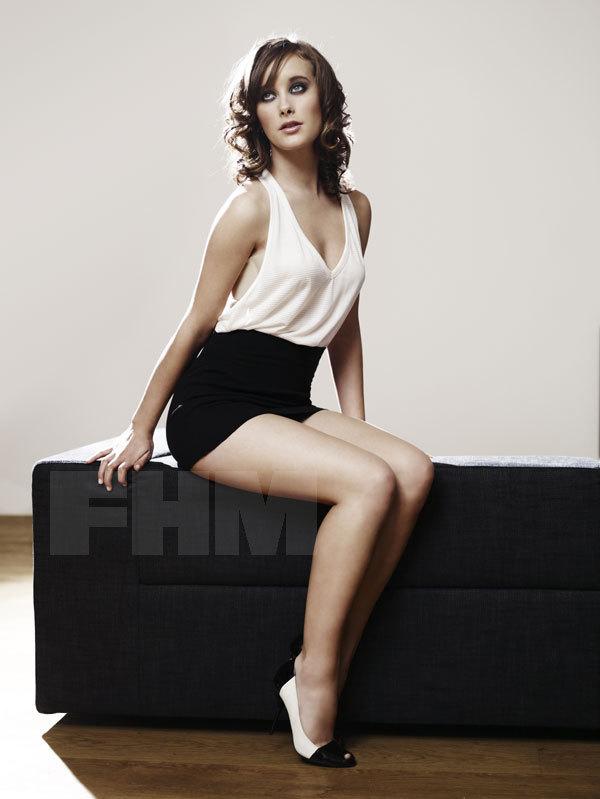 April Pearson in FHM