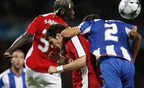 Arsenal vs. Porto, 30th September,2008