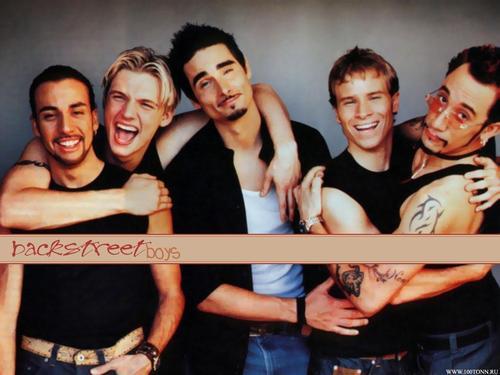 The 90s boy bands wallpaper called Backstreet Boys