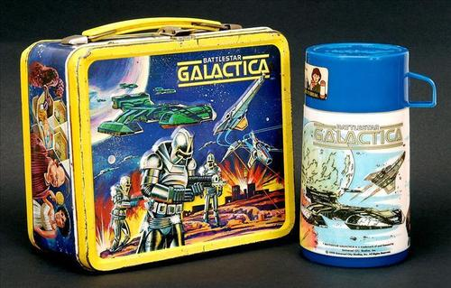 Battlestar Gallactica Vintage 1978 Lunch Box