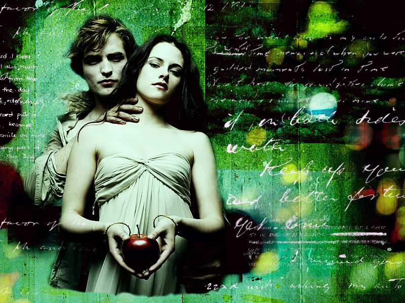 edward wallpaper. Bella amp; Edward Wallpaper