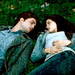 Bella & Edward in the meadow