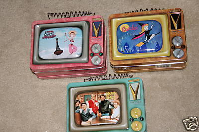 Bewitched, Happy Days & I Dream Of Jeannie lunchboxes