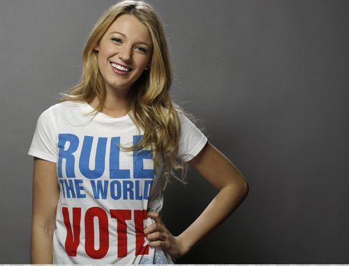 Blake, Ed, Penn, Chace Vote campaign