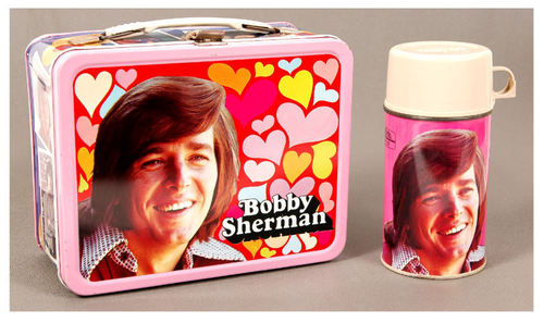 Bobby Sherman Vintage 1972 Lunch Box