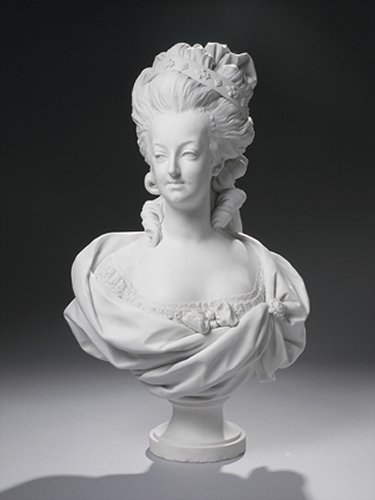 Kings and Queens wallpaper titled Bust of Marie Antoinette