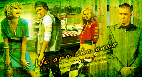 Chad and Hilarie wallpaper containing a sign titled C+H
