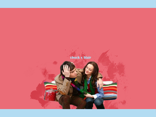 CHUCK & BLAIR LOVE 4EVER! - blair-and-chuck Wallpaper