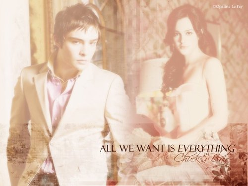 CHUCK & BLAIR cinta 4EVER!