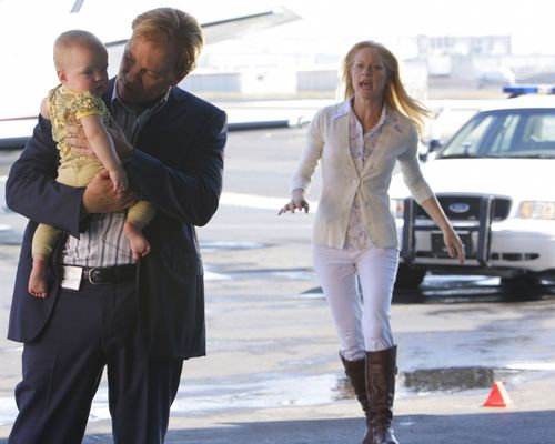 "CSI: Miami wallpaper with a business suit and a well dressed person called CSI: Miami - 7x08 - ""Gone Baby Gone"""