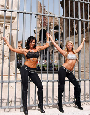 Candice & Kelly Kelly