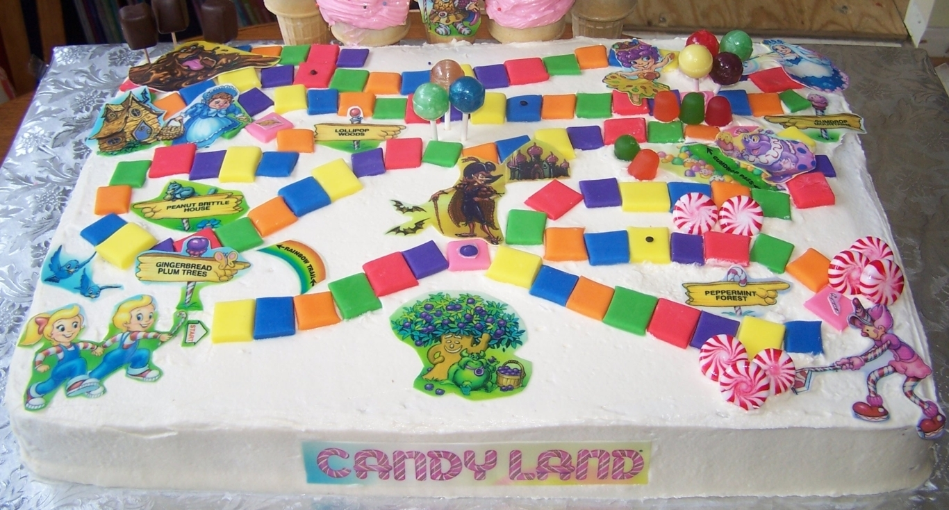 Candy Land Images Cake HD Wallpaper And Background Photos