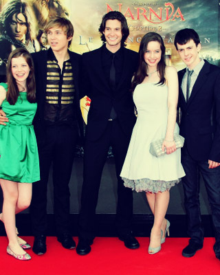Cast of Prince Caspian - harry-potter-vs-narnia Photo