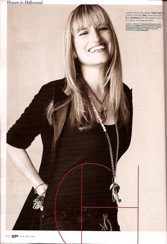 Catherine Hardwicke in ELLE Magazine