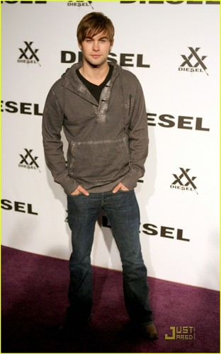 "Chace Crawford at the Diesel xXx 30th anniversary ""Rock and Roll Circus"""