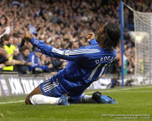 Chelsea FC achtergrond probably containing a hekje, wicket called Chelsea Team