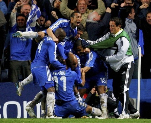 Chelsea Team vs. Livpool