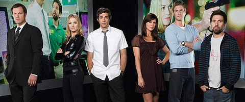 Chuck Season 1 Main Cast