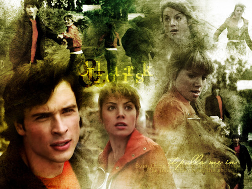 TV Couples wallpaper titled Clark/Lois[Smallville]