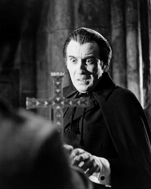 How did dracula become the first vampire was he born or for Chris lee architect