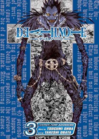 Death note manga covers