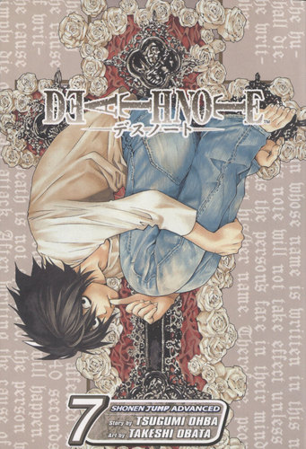Death note 망가 covers