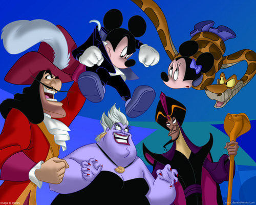 Disney Villains - captain-hook Wallpaper