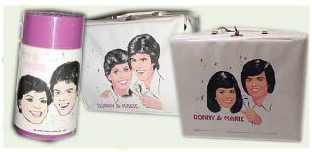 Lunch Boxes wallpaper called Donny and Marie Vintage 1976 and 1978 Lunch Boxes
