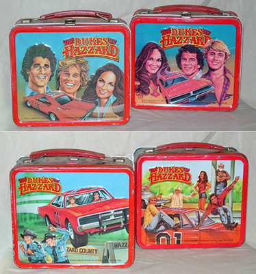 Dukes of Hazzard Lunch Boxes